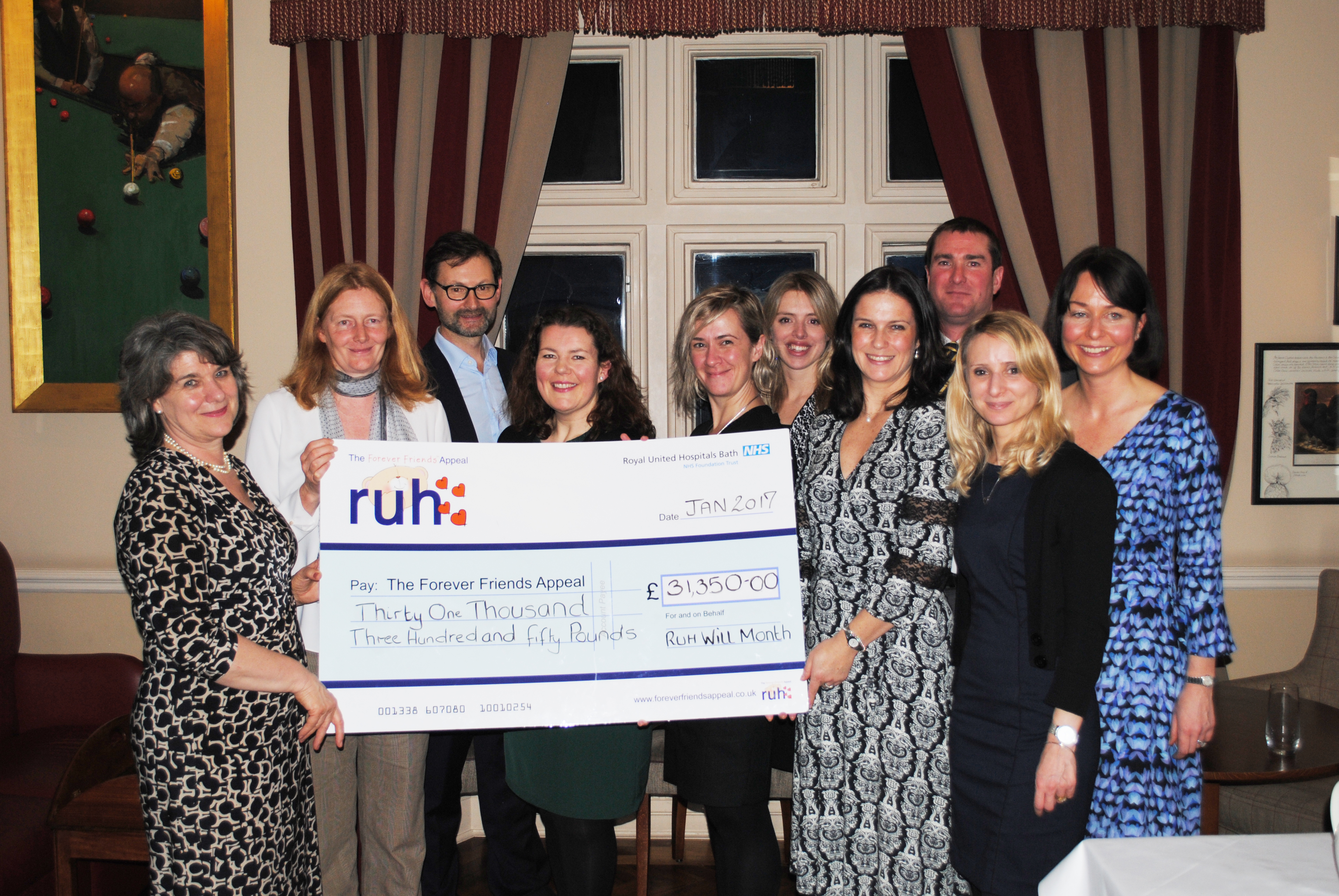 Local Solicitors raise £31,500 for the RUH Make a Will Month September
